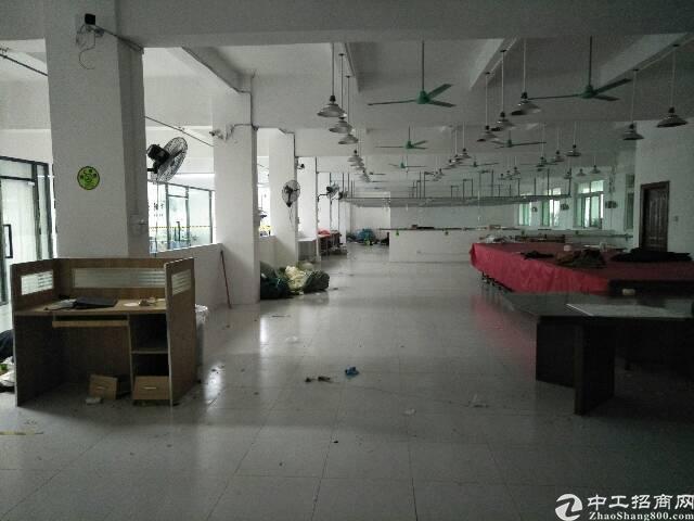 横岗四联88工业区二楼精装修厂房1280平,无转让费-图4