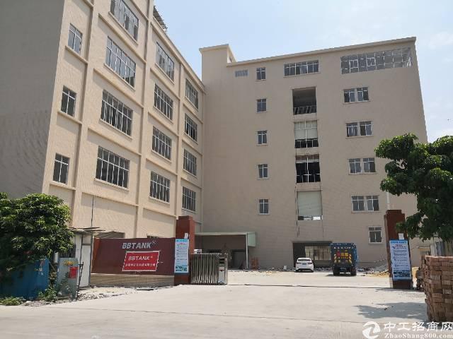 虎门全新标准二楼厂房出租面积2850平租11元电400kva