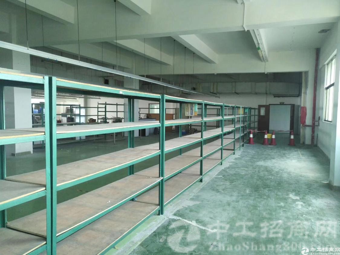 厚街新围精品独院出租楼上1400平米厂房,有电梯无公摊