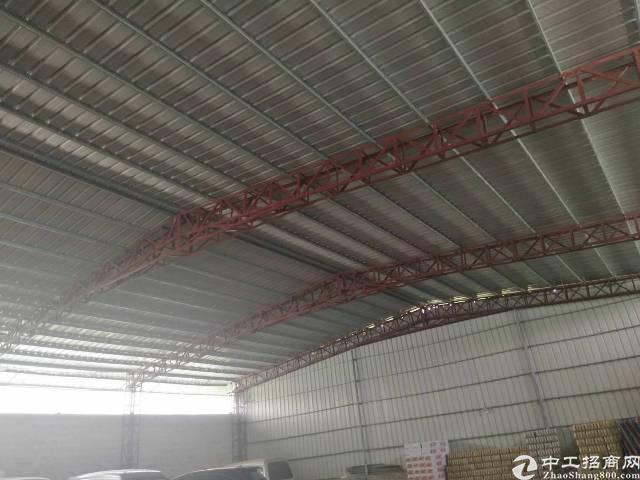 独门独院单一层钢构厂房出租-图3