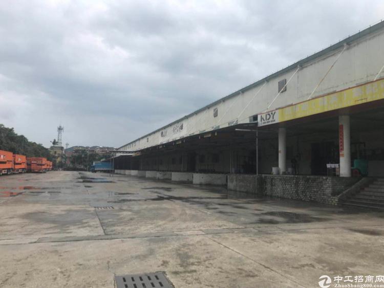深圳周边独院物流仓库出租标准食品冻库大小分租