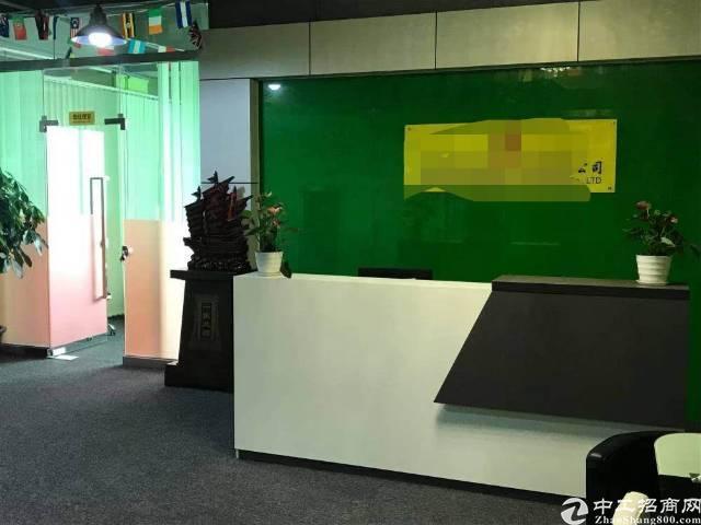 大浪华宁路星辉科技新出楼上500平方,精装修免转让费面积实在-图2