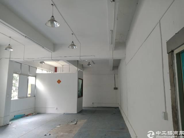 布吉丹竹头地铁旁新出400平厂房,合同可签2-7年,
