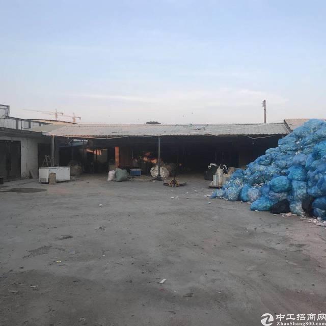 惠州小金口主干道旁独院3000平钢构厂房出租!