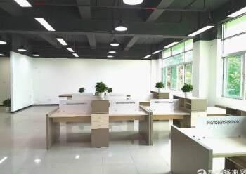 南山西丽中心区精装写字楼80元/平米起租图片3