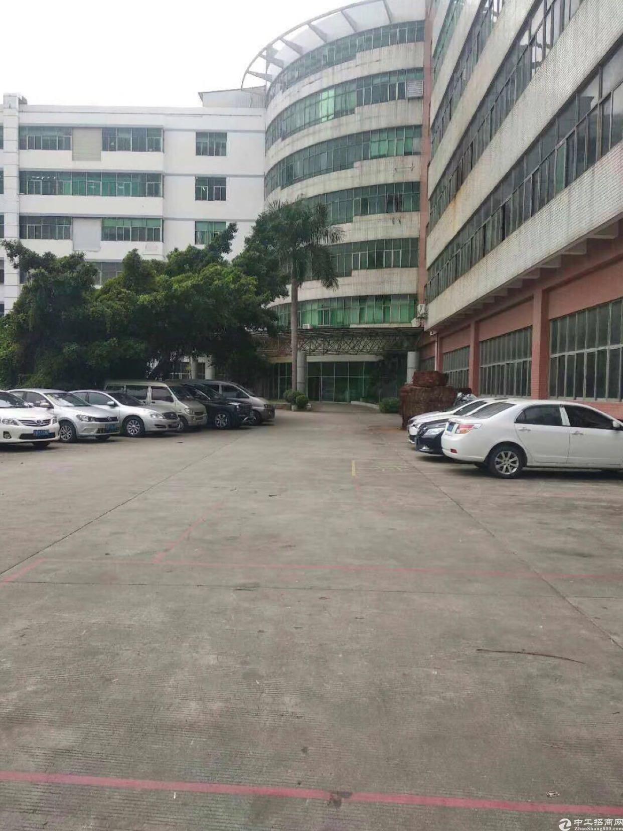 西乡红本厂房独门独院1.4万平  仅租40元