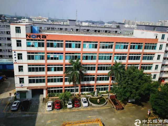 龙岗宝龙工业区,1-5层7500平米,全新厂房招租