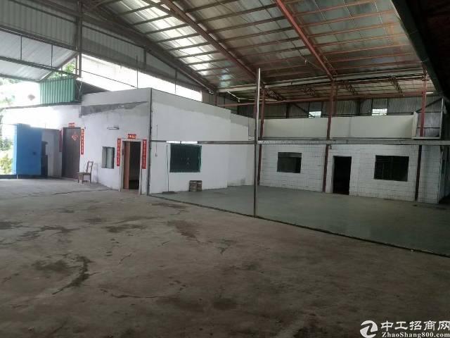 公明镇西田钢构厂房2300平,23/平,可做废品打包