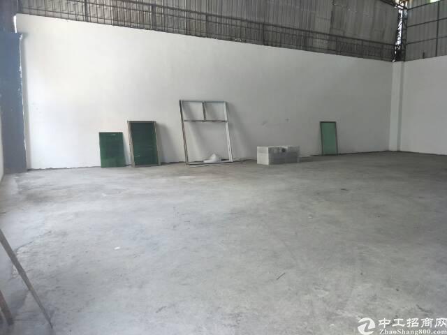 龙岗南联钢构厂房一楼1000平方出租