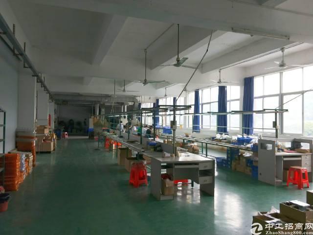 宝安西乡107国道西成工业区860平米厂房出租