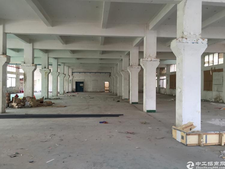 独栋标准厂房一楼带牛角3200方招租