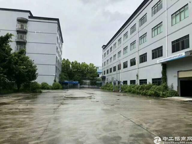 坪山大工业区原房东红本厂房招租,实际面积