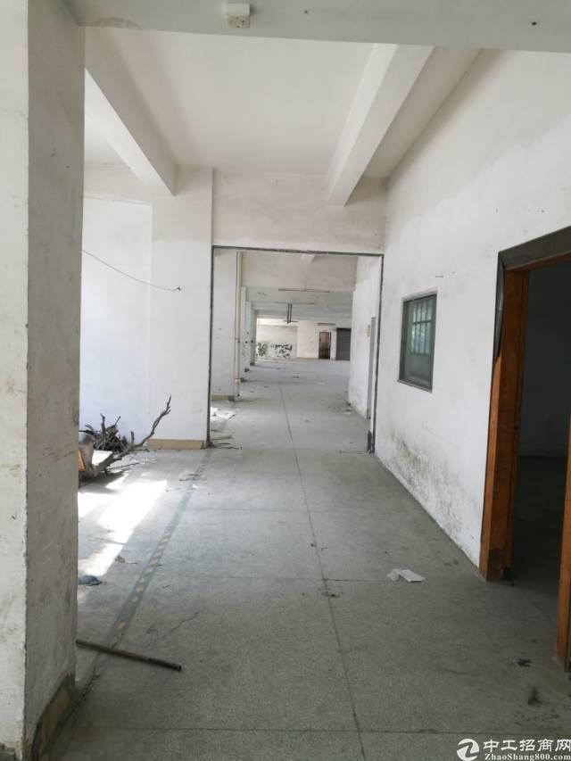 高埗镇成熟工业园区分租二楼标准厂房400平!