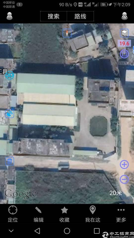 博罗长宁占地20000平方单一层厂房