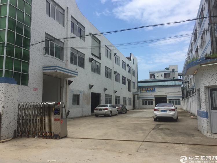 沙井庄村附近新出七米高钢构厂房带阁楼办公室装修出租