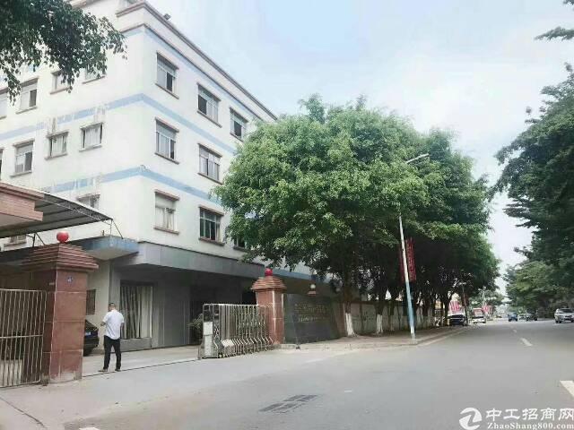 茶山原房东大马路旁边一楼800平方出租可做绣花冲压五金行业