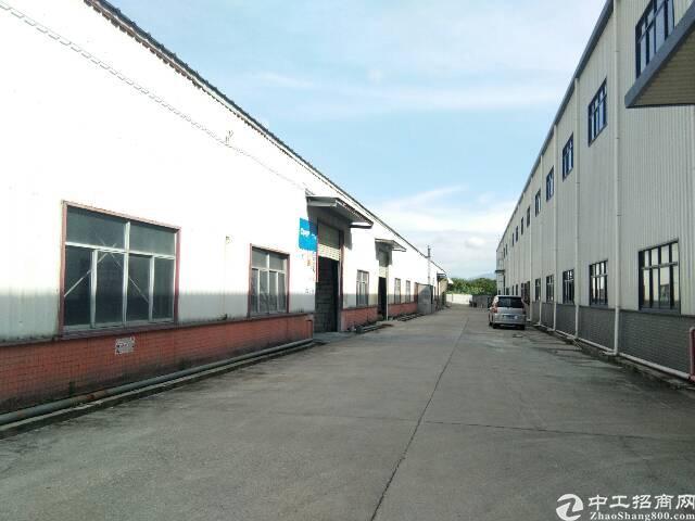 龙岗坪地钢构厂房2700平米出租空地2000