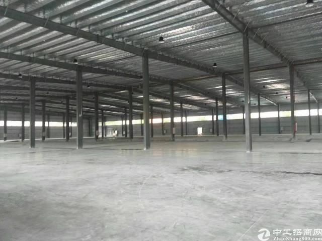 标准物流仓库。