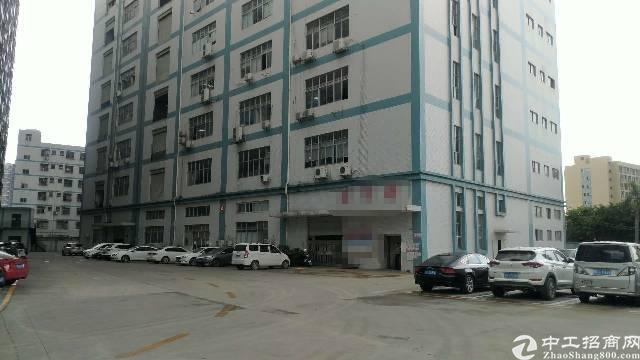 松岗松福大道边四楼1050平米(实际面积可量),租金20!
