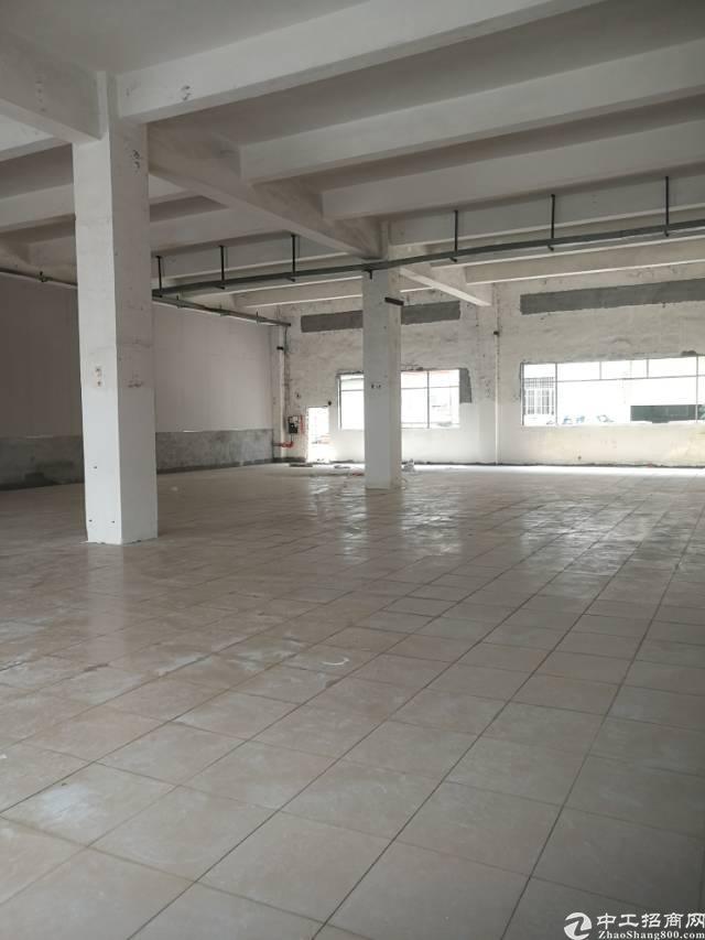 横岗大康大万村一楼面积616平米标准厂房招租