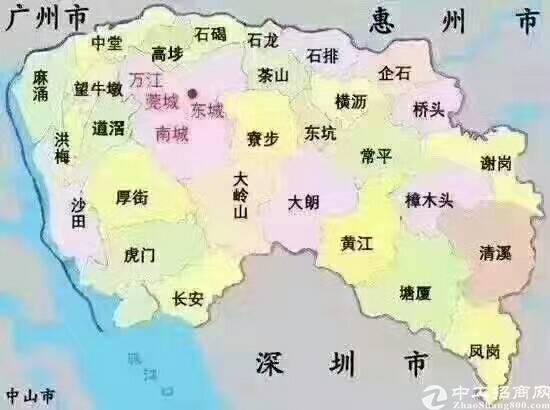 广东省东莞市大量国有证土地出售,出租,总面积有8582亩,1
