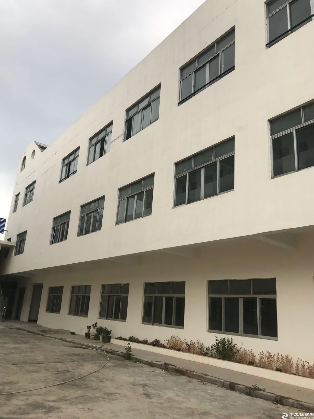 东莞市大朗镇新出独门独院厂房出租、位于成熟工业区里面