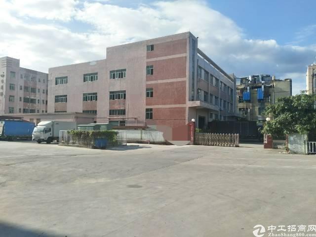 沙井后亭地铁口,新出独院厂房1到3层6000平方出租