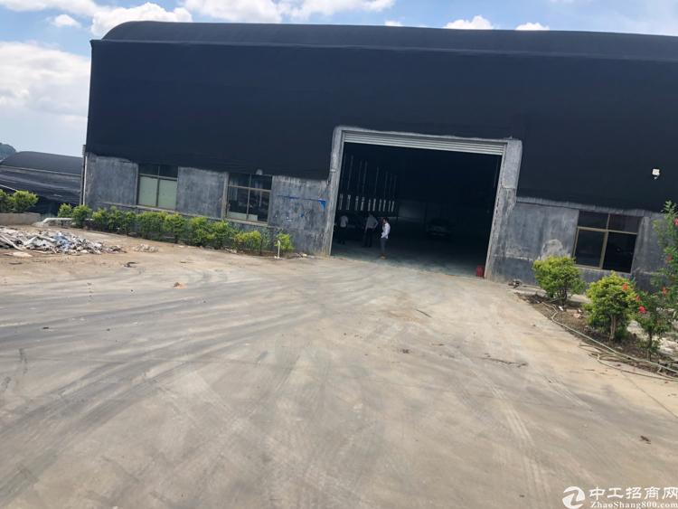 观澜竹村这里新出一楼带卸货码头2000平