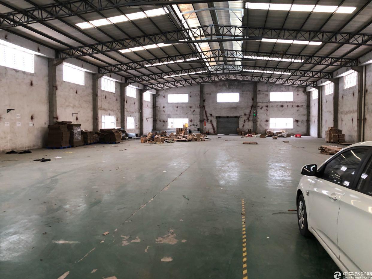 东莞市原房东独院砖墙到顶单一层厂房出租