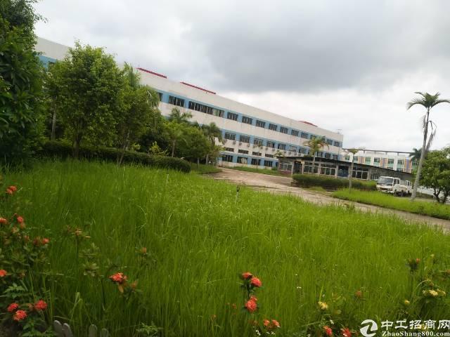 惠州花园市厂房招租,证件齐全,带现成豪华装修,
