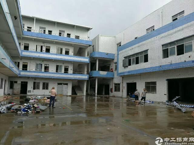 黄江镇北岸附近新出独院6600平标准厂房出租