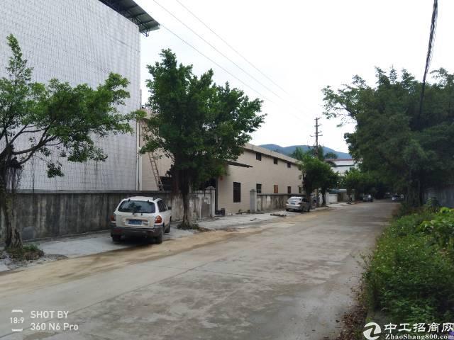 浮岗村8米高单一层钢构带隔热层5400平方厂房出租