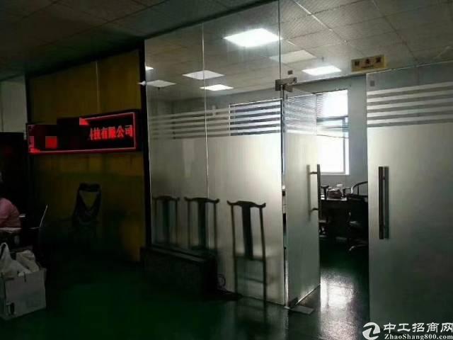 福永凤凰整层1600平方贴片厂出租,格局非常好,利用率高