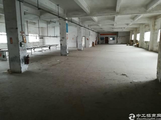 松岗塘下涌楼上1100平米实际面积出租,租金24!