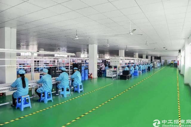 沙井后亭第一工业区 三楼厂房南边600平精装修无尘车间