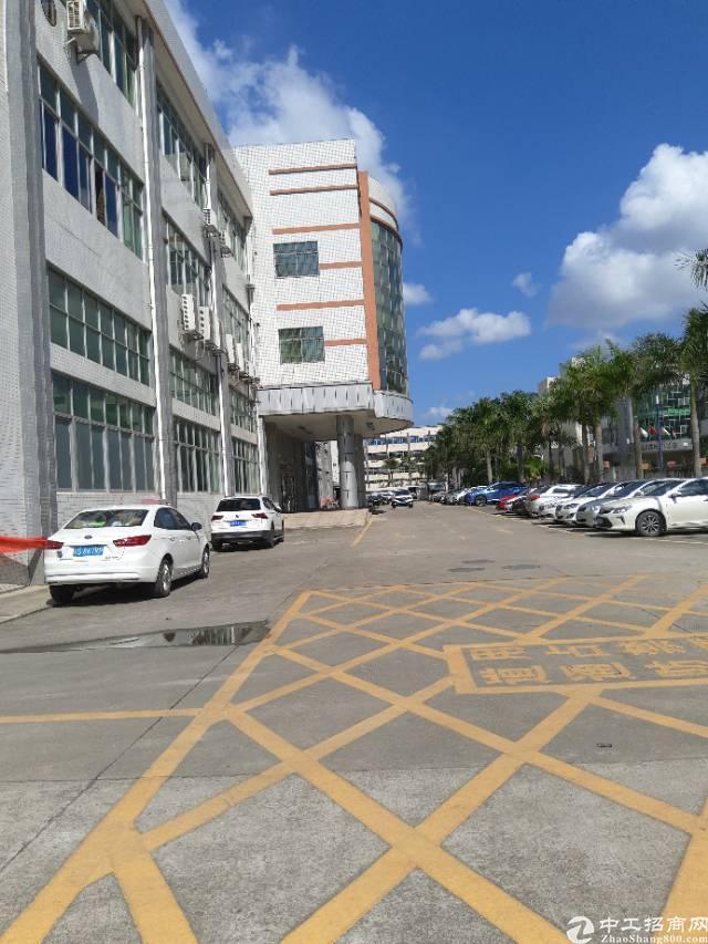 沙井西部工业区,厂房招租了500平带装修,吊机口,重工业厂房