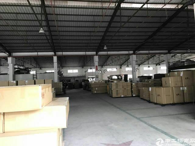 松岗 独门独院钢构厂房13050平宿舍1500平可搭卸货平台