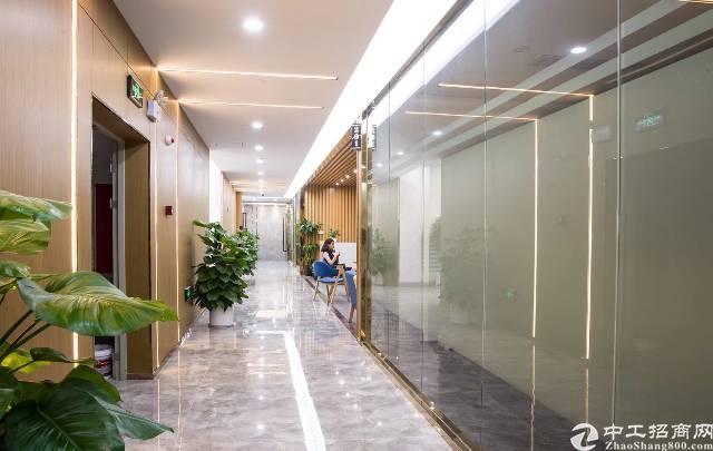 黄埔大沙地铁口创客电商园新出楼上500平方精装修免转让费
