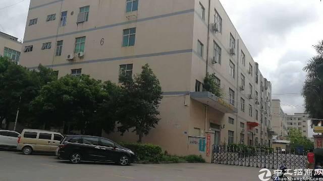 西乡黄田楼上1300平方厂房出租