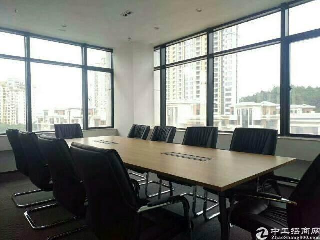 福永地铁口精装写字楼低价出租456平方图片2