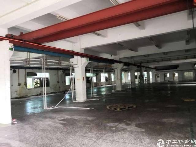 横沥镇工业区独院一楼带行车800平方米出租