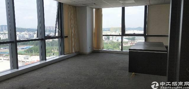 龙岗区平湖华南城甲级写字楼大小面积出租