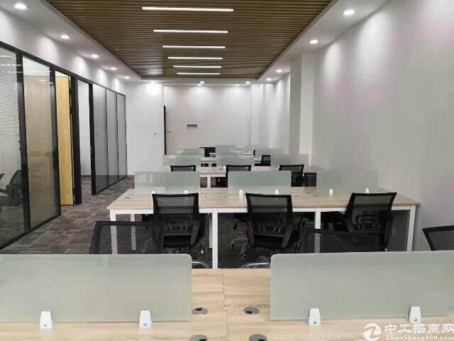 福永地铁口精装写字楼低价出租456平方图片3