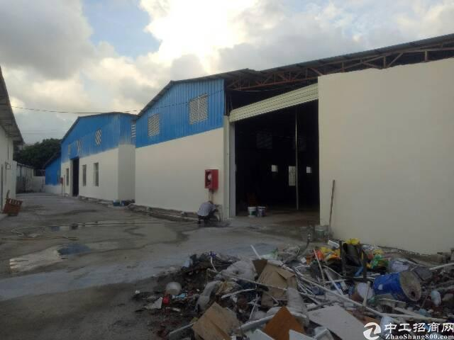 龙港华南城附近新出1700平独院钢构厂房,公摊小,面积实在