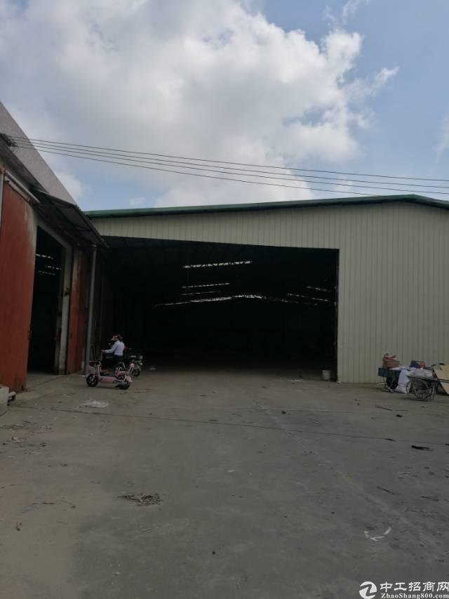 独门独院单一层厂房3400平方,滴水高8米