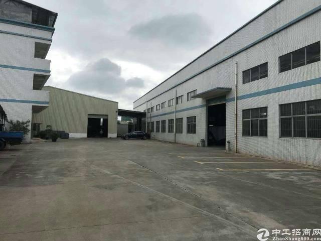 塘厦平山1500实际面积新钢构转租,水电办公室齐全