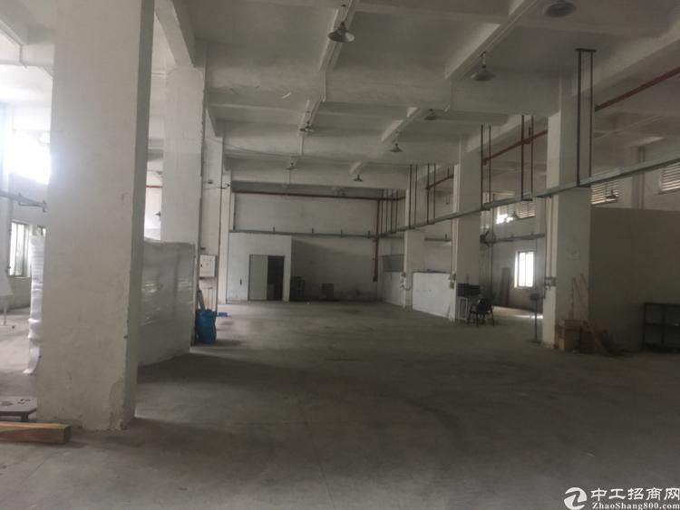 寮步镇岭夏村标准厂房一楼1800平方出租高度6米
