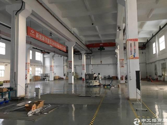 坪山带行车6.5米高标准厂房出租
