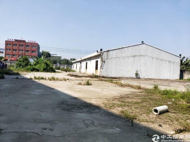独院空地4500平方厂房800电30可以增打好水泥