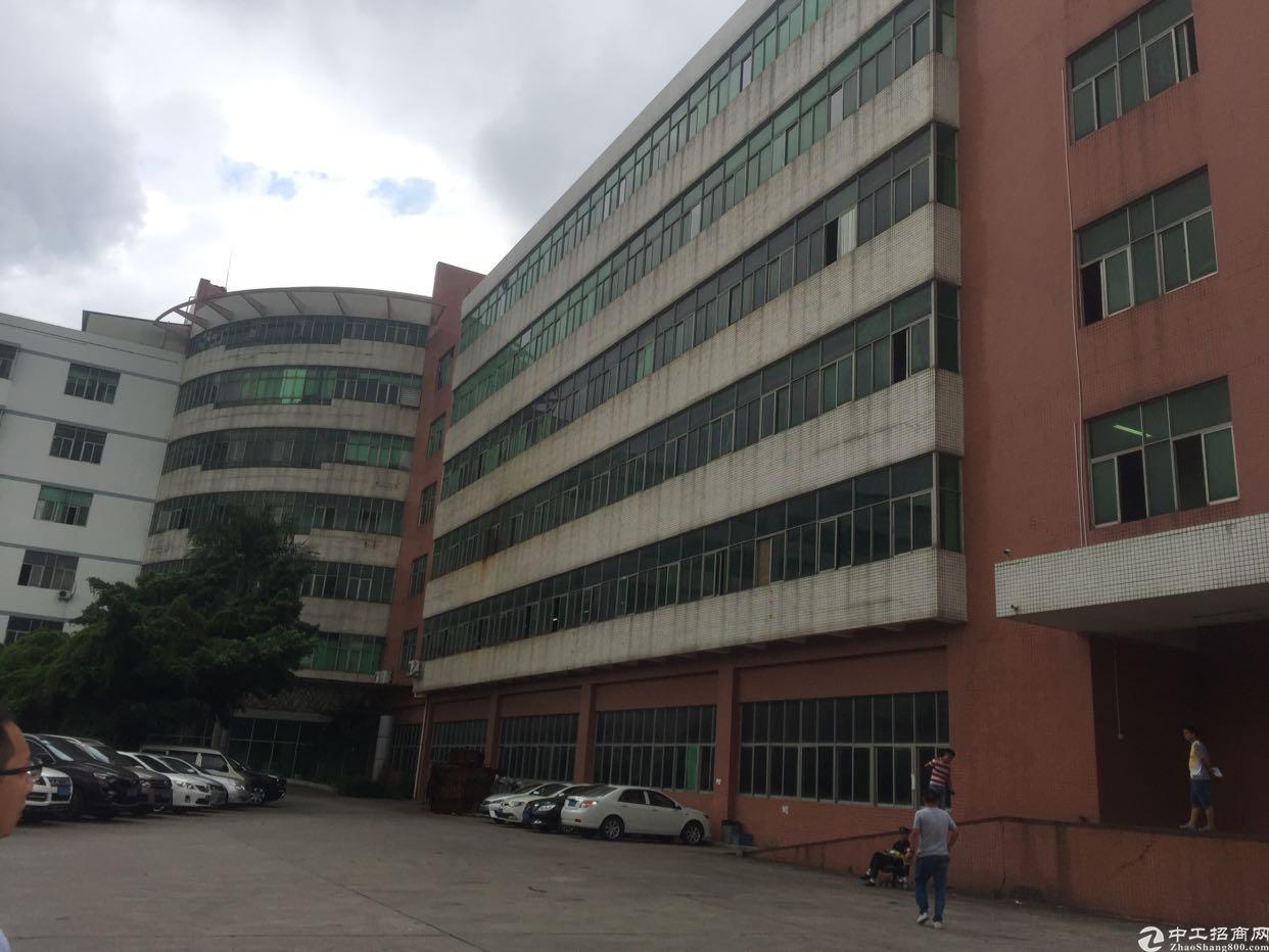 西乡航程工业区3楼2000平厂房出租